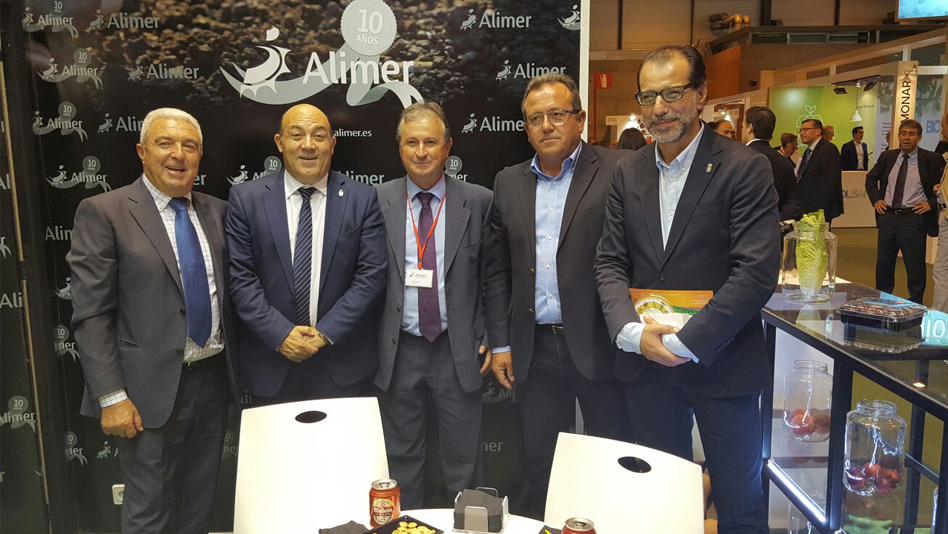 "Cieza representada en la Feria de Madrid ""Fruit Attraction"""